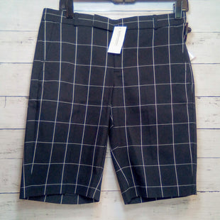 Primary Photo - BRAND: BANANA REPUBLIC O STYLE: SHORTS COLOR: BLACK WHITE SIZE: 2 OTHER INFO: NEW! SKU: 216-21612-88124