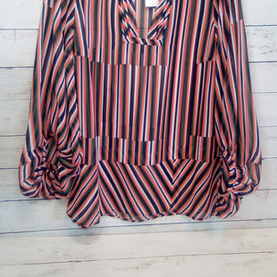 Primary Photo - BRAND: CABI STYLE: TOP LONG SLEEVE COLOR: STRIPED SIZE: S OTHER INFO: NEW!   ORANGE/GRN/BLK SKU: 216-21612-87970