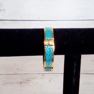 Primary Photo - BRAND: COACH STYLE: BRACELET COLOR: TURQUOISE OTHER INFO: LEGACY BANGLE SKU: 216-21612-87792