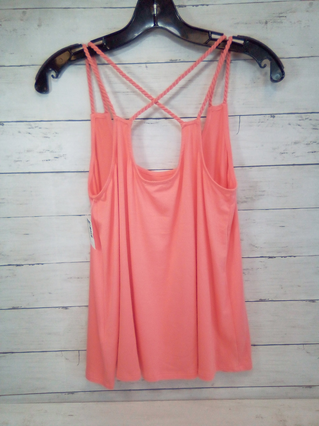 Photo #1 - BRAND: ELLA MOSS <BR>STYLE: TOP SLEEVELESS <BR>COLOR: CORAL <BR>SIZE: M <BR>SKU: 216-21695-150