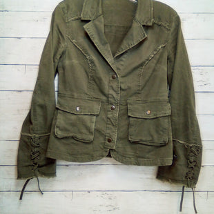 Primary Photo - BRAND: FREE PEOPLE STYLE: BLAZER JACKET COLOR: OLIVE SIZE: XS SKU: 216-21612-88072