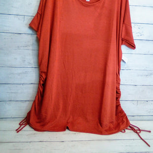 Primary Photo - BRAND: ZENANA OUTFITTERS STYLE: TOP SHORT SLEEVE COLOR: ORANGE SIZE: 1X SKU: 216-21612-83977