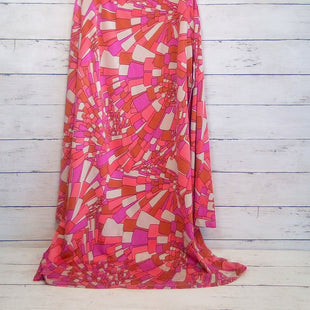 Primary Photo - BRAND: TRINA TURK STYLE: DRESS DESIGNER COLOR: MULTI SIZE: M OTHER INFO: PINK/ORANGE/TAN SKU: 216-21644-15075