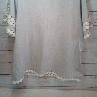 Primary Photo - BRAND: J CREW STYLE: TOP SHORT SLEEVE COLOR: GREY SIZE: XL OTHER INFO: NEW! W/OFFWHITE SKU: 216-21638-66823