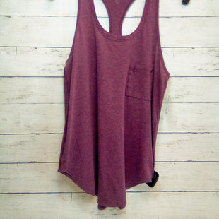 Primary Photo - BRAND: LULULEMON STYLE: ATHLETIC TANK TOP COLOR: MAROON SIZE: L SKU: 216-21644-15143