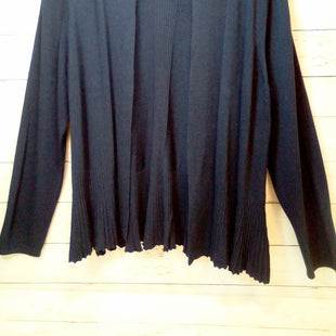 Primary Photo - BRAND: ANTHROPOLOGIE STYLE: SWEATER CARDIGAN LIGHTWEIGHT COLOR: NAVY SIZE: 1X SKU: 216-21612-82077