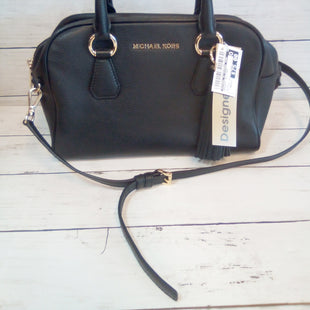 Primary Photo - BRAND: MICHAEL BY MICHAEL KORS STYLE: HANDBAG DESIGNER COLOR: BLACK SIZE: MEDIUM OTHER INFO: BEDFORD TASSEL SATCHEL SKU: 216-21638-65245