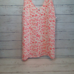 Primary Photo - BRAND: CABI STYLE: TOP SLEEVELESS COLOR: MULTI SIZE: S OTHER INFO: CREAM/ORANGE SKU: 216-21612-87966