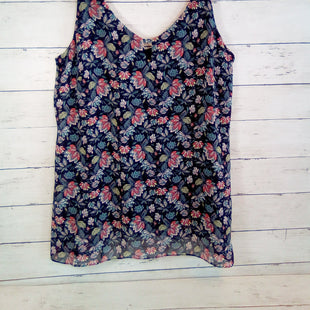 Primary Photo - BRAND: CABI STYLE: TOP SLEEVELESS COLOR: FLORAL SIZE: S OTHER INFO: NAVY SKU: 216-21612-85102