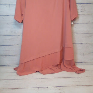 Primary Photo - BRAND: ZENANA OUTFITTERS STYLE: TOP SHORT SLEEVE COLOR: SALMON SIZE: 3X SKU: 216-21612-83974