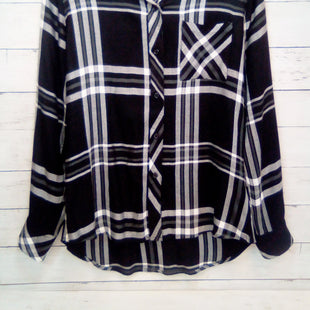 Primary Photo - BRAND: RAILS STYLE: TOP LONG SLEEVE COLOR: BLACK WHITE SIZE: S SKU: 216-21638-66554