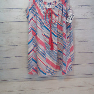 Primary Photo - BRAND: CABI STYLE: TOP SLEEVELESS COLOR: STRIPED SIZE: S OTHER INFO: NEW!  RED/BLUE/BEIGE/LAVNDR SKU: 216-21612-87963