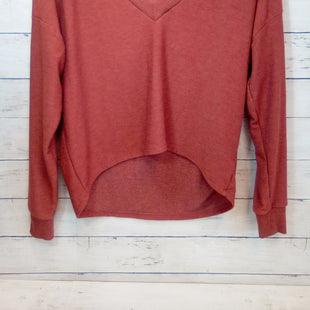 Primary Photo - BRAND: CHASER STYLE: TOP LONG SLEEVE COLOR: RUST SIZE: XS SKU: 216-21638-66705