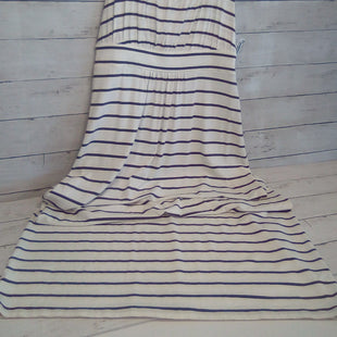 Primary Photo - BRAND: ANN TAYLOR O STYLE: DRESS LONG SLEEVELESS COLOR: STRIPED SIZE: M OTHER INFO: CREAM/BROWN SKU: 216-21612-87810