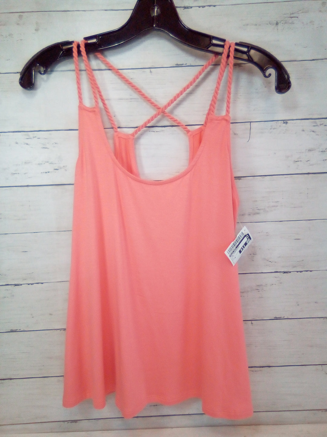 Primary Photo - BRAND: ELLA MOSS <BR>STYLE: TOP SLEEVELESS <BR>COLOR: CORAL <BR>SIZE: M <BR>SKU: 216-21695-150