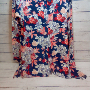 Primary Photo - BRAND: WEST BOUND STYLE: BLOUSE COLOR: FLORAL SIZE: XL OTHER INFO: NEW!  BLUE/RED/WHITE/PINK SKU: 216-21612-84555