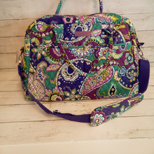 Primary Photo - BRAND: VERA BRADLEY STYLE: TOTE COLOR: FLORAL SIZE: LARGE OTHER INFO: NEW! WEEKENDER HEATHER SKU: 216-21638-64211