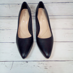 Primary Photo - BRAND: CLARKS STYLE: SHOES HIGH HEEL COLOR: BLACK SIZE: 8.5 SKU: 216-21612-84245