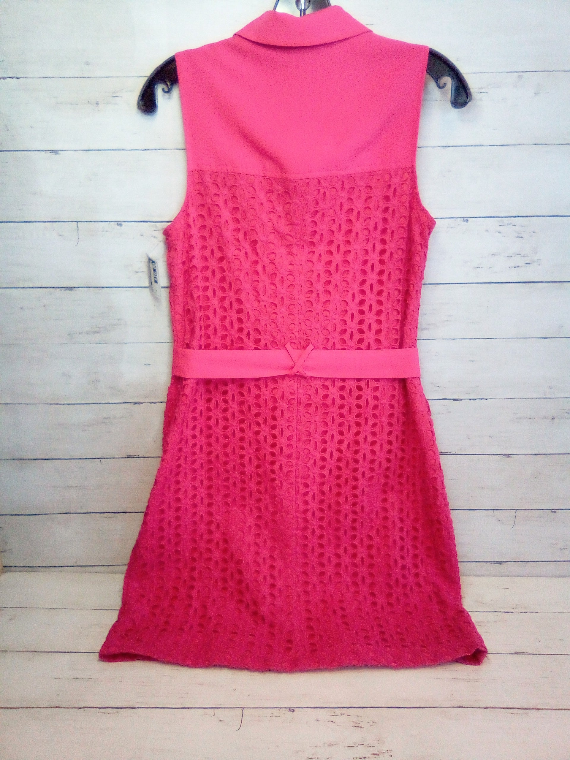 Photo #1 - BRAND: CECE <BR>STYLE: DRESS SHORT SLEEVELESS <BR>COLOR: PINK <BR>SIZE: S <BR>SKU: 216-21638-65082