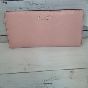 Primary Photo - BRAND: KATE SPADE STYLE: WALLET COLOR: DUSTY PINK SIZE: MEDIUM OTHER INFO: SNAP CLOSURE SKU: 216-21638-64831