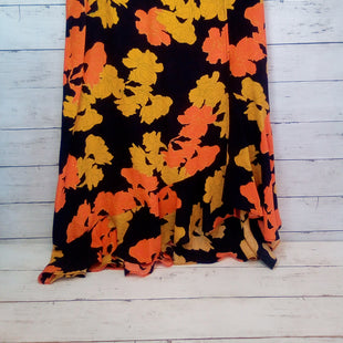 Primary Photo - BRAND: TOP SHOP STYLE: SKIRT COLOR: FLORAL SIZE: 8 OTHER INFO: BLACK/ORANGE/GOLD SKU: 216-21612-88013