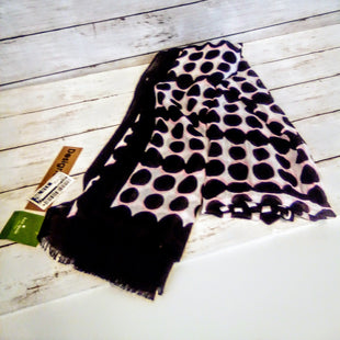 Primary Photo - BRAND: KATE SPADE STYLE: SCARF COLOR: BLACK WHITE OTHER INFO: NEW! W/PINK SKU: 216-21638-64917