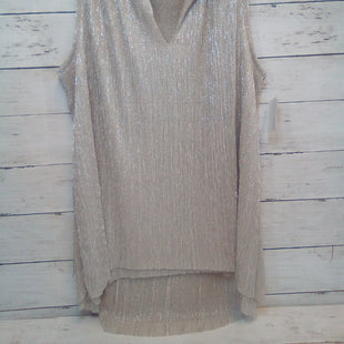 Primary Photo - BRAND: ANTHROPOLOGIE STYLE: TOP SLEEVELESS COLOR: GOLD SIZE: S OTHER INFO: VANESSA VIRGINIA SKU: 216-21612-88212