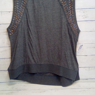 Primary Photo - BRAND: WE THE FREE STYLE: TOP SLEEVELESS COLOR: CHARCOAL SIZE: L OTHER INFO: STUDS/RIVETS SKU: 216-21638-66817