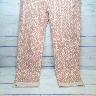 Primary Photo - BRAND: ANTHROPOLOGIE STYLE: PANTS COLOR: ANIMAL PRINT SIZE: 6 OTHER INFO: CREAM/BROWN SKU: 216-21638-66894