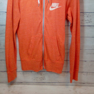 Primary Photo - BRAND: NIKE APPAREL STYLE: ATHLETIC JACKET COLOR: ORANGE SIZE: S SKU: 216-21612-86822
