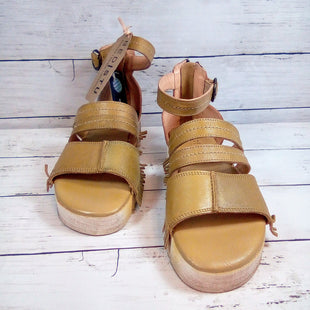 Primary Photo - BRAND: BED STU STYLE: SANDALS HIGH COLOR: MUSTARD SIZE: 7 OTHER INFO: NEW! EMELIA SKU: 216-21638-65051