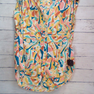 Primary Photo - BRAND: ANTHROPOLOGIE STYLE: TOP SLEEVELESS COLOR: MULTI SIZE: S OTHER INFO: DANIELLE KROLL  GOLD/RUST/TEAL/AQUA SKU: 216-21612-87510