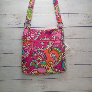 Primary Photo - BRAND: VERA BRADLEY STYLE: HANDBAG COLOR: PAISLEY SIZE: SMALL OTHER INFO: NEW!  HIPSTER PINK SWIRLS SKU: 216-21612-84969