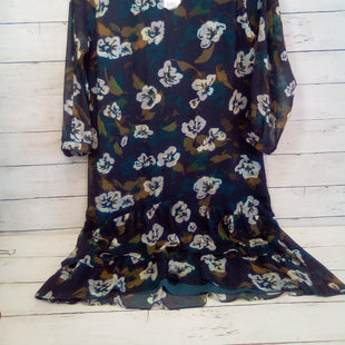 Primary Photo - BRAND: CABI STYLE: DRESS SHORT LONG SLEEVE COLOR: FLORAL SIZE: S OTHER INFO: NEW!  NAVY W/FABRIC BELT SKU: 216-21612-88017