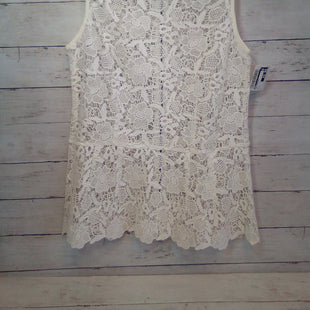 Primary Photo - BRAND: CABI STYLE: TOP SLEEVELESS COLOR: CREAM SIZE: M SKU: 216-21612-88002