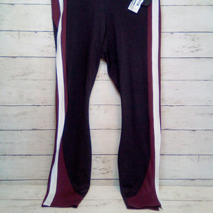Primary Photo - BRAND: ATHLETA STYLE: ATHLETIC PANTS COLOR: MULTI SIZE: 8 OTHER INFO: MAROON/BLK/WHITE SKU: 216-21612-88040