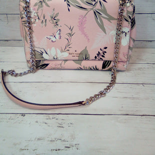 Primary Photo - BRAND: KATE SPADE STYLE: HANDBAG DESIGNER COLOR: BUTTERFLIES SIZE: MEDIUM OTHER INFO: BRIAR LANE EMELYN CRSSBDY SKU: 216-21612-84506