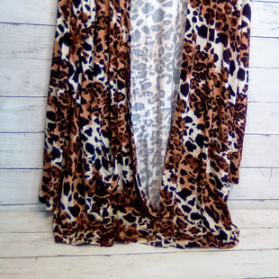 Primary Photo - BRAND: ZENANA OUTFITTERS STYLE: SWEATER CARDIGAN HEAVYWEIGHT COLOR: LEOPARD PRINT SIZE: 1X SKU: 216-21612-83980