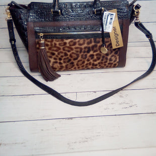 Primary Photo - BRAND: BRAHMIN STYLE: HANDBAG DESIGNER COLOR: LEOPARD PRINT SIZE: LARGE OTHER INFO: ANNA SATCHL LEOPARD SKU: 216-21612-84825