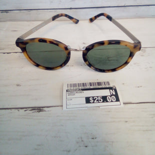 Primary Photo - BRAND: MADEWELL STYLE: SUNGLASSES COLOR: BROWN SKU: 216-21638-64863