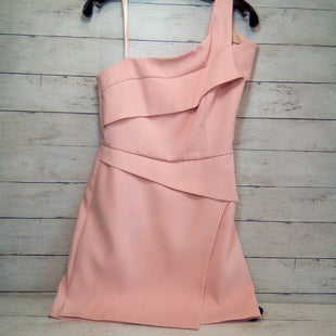 Primary Photo - BRAND: BCBG STYLE: DRESS SHORT SLEEVELESS COLOR: PINK SIZE: S OTHER INFO: ONE SHOULDER SKU: 216-21612-87824