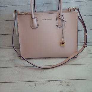 Primary Photo - BRAND: MICHAEL BY MICHAEL KORS STYLE: HANDBAG DESIGNER COLOR: LIGHT PINK SIZE: LARGE OTHER INFO: MERCER CONV TOTE SKU: 216-21638-64787