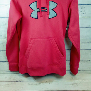 Primary Photo - BRAND: UNDER ARMOUR STYLE: ATHLETIC TOP COLOR: CORAL SIZE: M OTHER INFO: HOODY SKU: 216-21612-83210