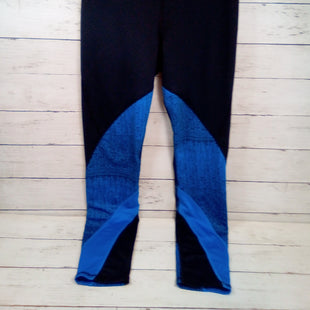 Primary Photo - BRAND: UNDER ARMOUR STYLE: ATHLETIC PANTS COLOR: MULTI SIZE: 4 OTHER INFO: BLK/BLUE SKU: 216-21612-84869