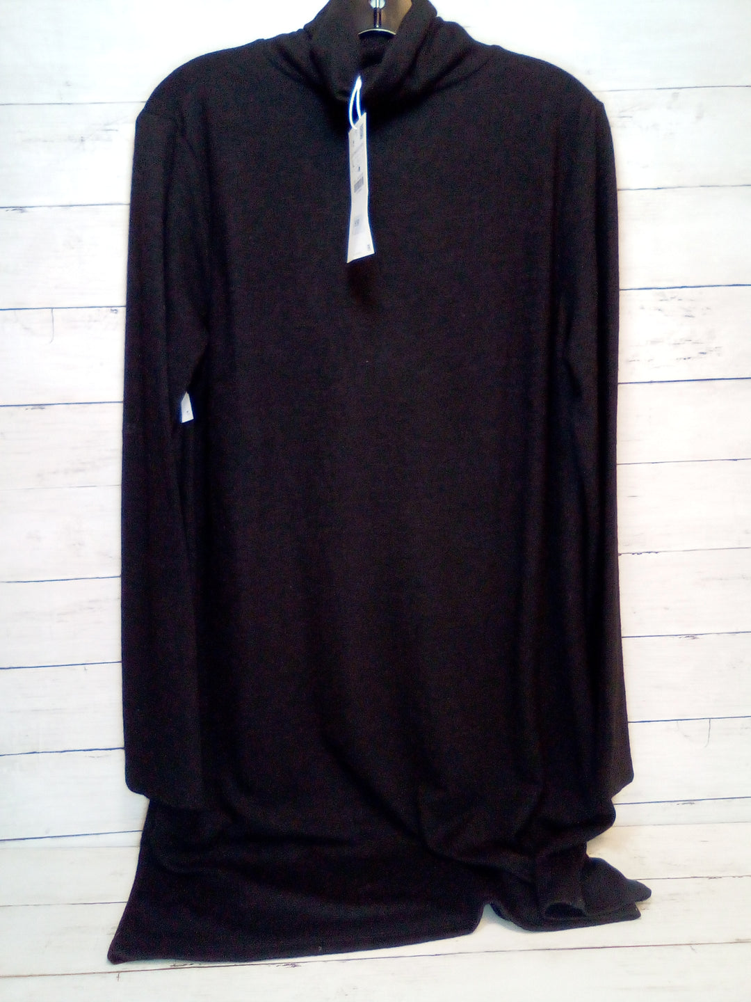 Primary Photo - BRAND: ZARA BASIC <BR>STYLE: DRESS SHORT LONG SLEEVE <BR>COLOR: BLACK <BR>SIZE: L <BR>OTHER INFO: NEW! <BR>SKU: 216-21638-64719