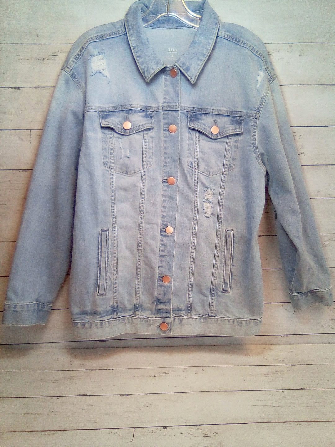 Primary Photo - BRAND: ANA <BR>STYLE: BLAZER JACKET <BR>COLOR: DENIM BLUE <BR>SIZE: M <BR>SKU: 216-21638-65832