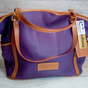 Primary Photo - BRAND: DOONEY AND BOURKE STYLE: HANDBAG DESIGNER COLOR: PURPLE SIZE: LARGE SKU: 216-21612-83760