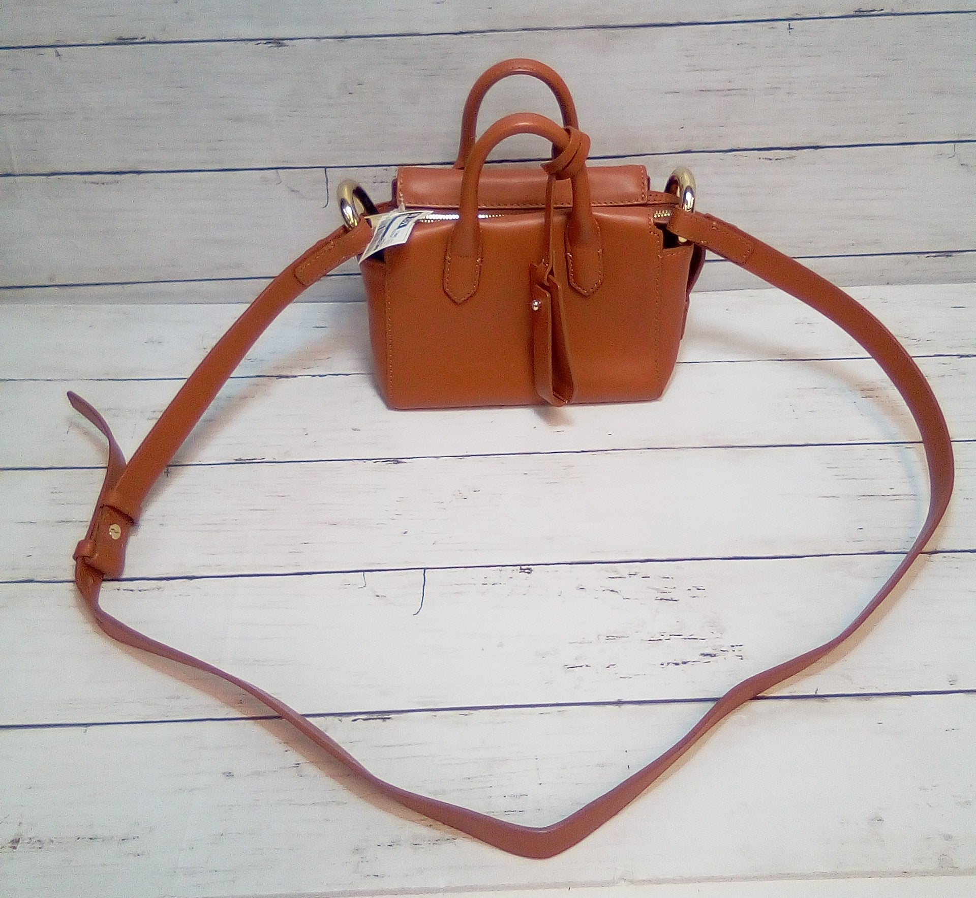 Photo #1 - BRAND: J CREW O <BR>STYLE: HANDBAG <BR>COLOR: TAN <BR>SIZE: SMALL <BR>OTHER INFO: MINI CROSSBODY <BR>SKU: 216-21612-85595