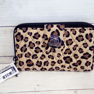 Primary Photo - BRAND: VERA BRADLEY STYLE: WALLET COLOR: ANIMAL PRINT SIZE: MEDIUM SKU: 216-21611-28902