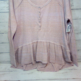 Primary Photo - BRAND: WE THE FREE STYLE: TOP LONG SLEEVE COLOR: DUSTY PINK SIZE: L SKU: 216-21638-66820